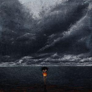 Mirror world - Fire by Shiori Eda contemporary artwork