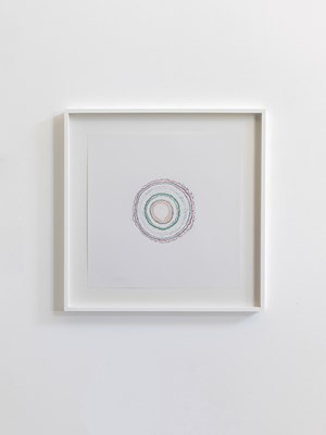 Timekeeper (drawing), from Palais de Tokyo by Pierre Huyghe contemporary artwork
