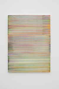 Dela by Bernard Frize contemporary artwork painting