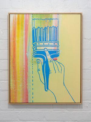 Paint Application by Ian Scott contemporary artwork