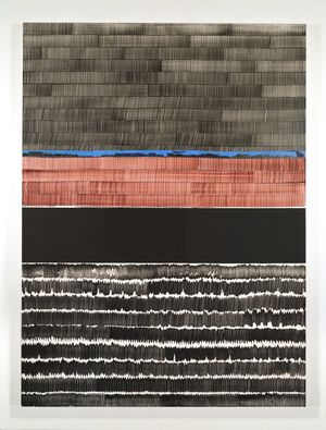 Soñé que revelabas (Bravo) by Juan Uslé contemporary artwork