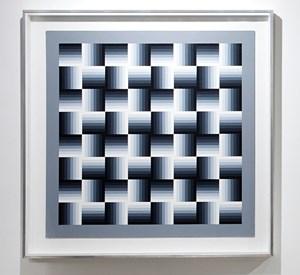 Gamme a quatre positions by Julio Le Parc contemporary artwork