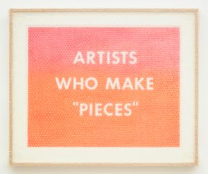 "'ARTISTS WHO MAKE ""PIECES""' by Tammi Campbell contemporary artwork"