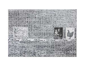 Untitled (Large white grid) by Zachary Armstrong contemporary artwork