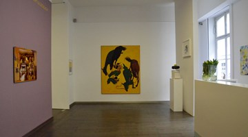 Contemporary art exhibition, Group Exhibition, Gelb Macht Glücklich (Yellow makes you happy) at Beck & Eggeling International Fine Art, Düsseldorf