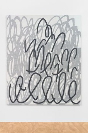 Slow Scrawl by Amy Feldman contemporary artwork painting