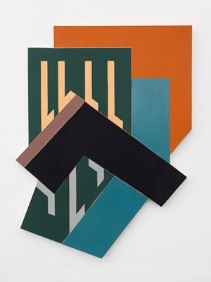 Dawidgrodek I by Frank Stella contemporary artwork