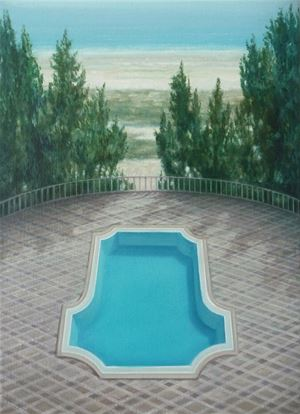 Untitled (Pool 1) by Melanie Siegel contemporary artwork