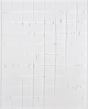 Gitter/Linien by Katharina Hinsberg contemporary artwork