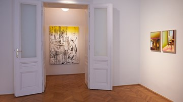 Contemporary art exhibition, Susanne Kühn, PALETTE at Beck & Eggeling International Fine Art, Vienna