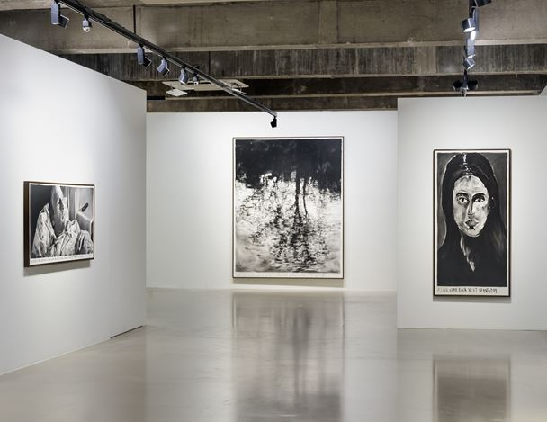 Installation view of 'Cygnus Loop' at Gallery Baton, Seoul, 2019,courtesy of Gallery Baton, photo by Jeon Byung Cheol.