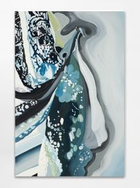 Broken by Paper by Clare Woods contemporary artwork painting, works on paper