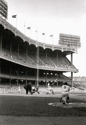 Mickey Mantle & Roger Maris, Yankee Stadium, The Bronx, NY by Walter Iooss Jr contemporary artwork