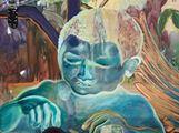 Celestial diners II by Ndidi Emefiele contemporary artwork 2