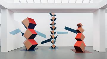 Contemporary art exhibition, Angela Bulloch, Heavy Metal Body at Esther Schipper, Berlin, Germany