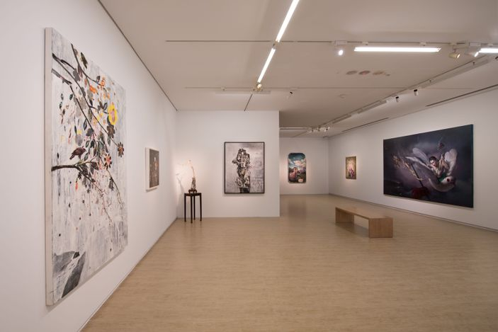 Exhibition view: Group Exhibition,Zero Loop 零度迴路, Lin & Lin Gallery, Taipei (4 July–22 August 2020). Courtesy Lin & Lin Gallery.