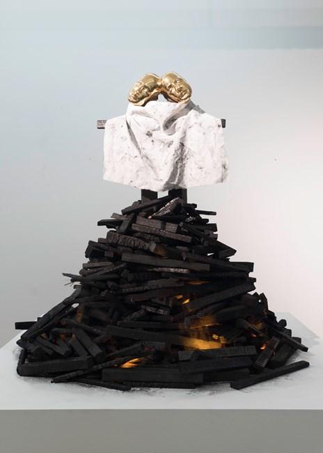 In Girum Imus Nocte Et Consumimur Igni by Glenn Kaino contemporary artwork