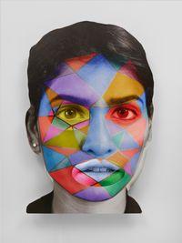 4^#z by Tony Oursler contemporary artwork print, installation, mixed media