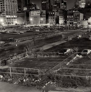 West Side Parking Lots by Peter Hujar contemporary artwork