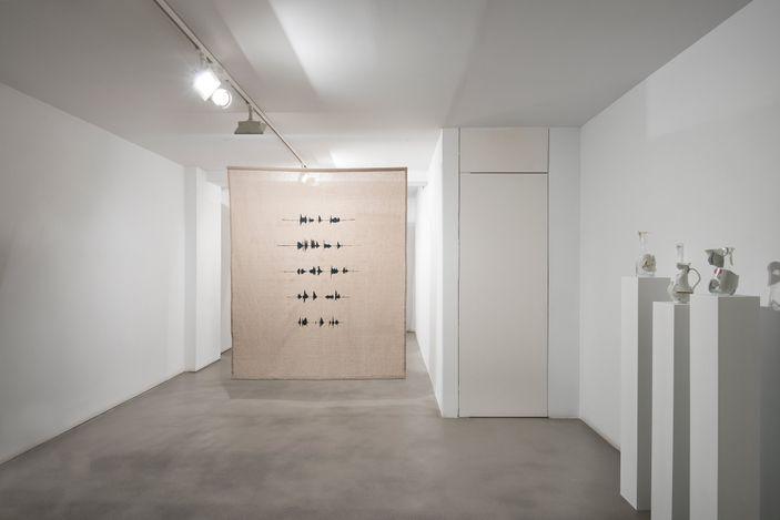 Julia Llerena, Para que el sol regrese (2021). Sticks and glass.Courtesy Sabrina Amrani, Madrid.