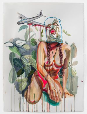 Guahi #2 by Gisela McDaniel contemporary artwork