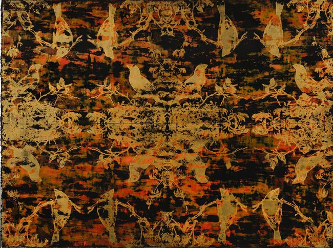 Quartet Continuous Exercise (Black Gold) by Su Meng-Hung contemporary artwork