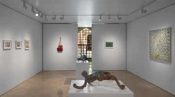 Contemporary art exhibition, Christian Holstad, Time wounds all heels at Victoria Miro, Venice