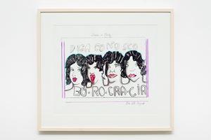 Burocracia, 1977 by Anna Bella Geiger contemporary artwork