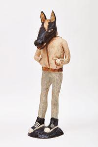 Waiting for Something by Klara Kristalova contemporary artwork sculpture