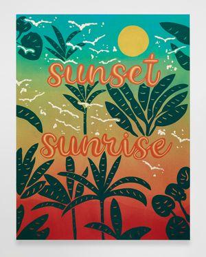 Untitled (Sunset Sunrise) by Joel Mesler contemporary artwork