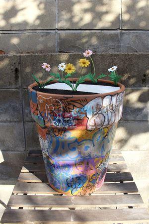 Street flower pot#3 by Takuro Tamura contemporary artwork