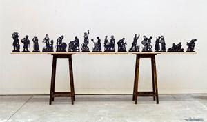Processione di Riparazioniste Maquettes (Full Set) by William Kentridge contemporary artwork