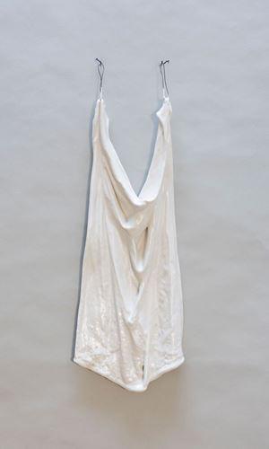 A piece of cloth by Karen Erland contemporary artwork