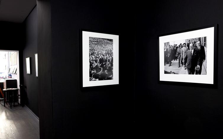 Exhibition view:Joco Žnidaršič, Tito and the Camera, Galerija Fotografija, Ljubljana (25 May–26 June 2020). Courtesy Galerija Fotografija.