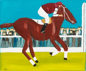 Big Red by Frank Nowlan contemporary artwork