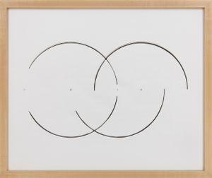 Cut Drawing by Gordon Matta-Clark contemporary artwork