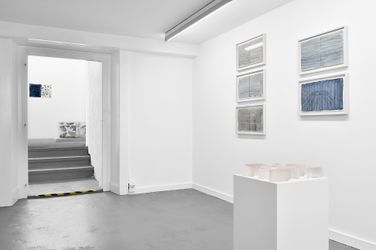 Exhibition view:Catherine Bolle, Eaux Nomades,2021, Lausanne (10 September–23 October 2021). Courtesy Fabienne Levy.