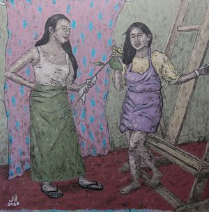 The Empathetic by Johanna Helmuth contemporary artwork