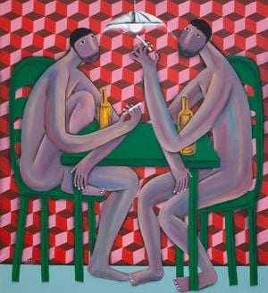 Nude Talk by Kitti Narod contemporary artwork