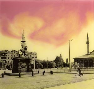 Salah al Din Platz from the series 'What If ' by Manaf Halbouni contemporary artwork