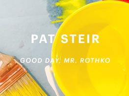 """Good Day, Mr. Rothko"" 