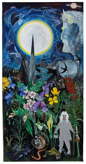 Flowers of Evil, The Congregation by David Harrison contemporary artwork
