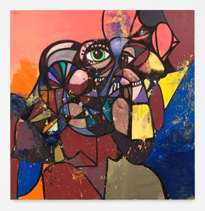 The New Normal by George Condo contemporary artwork