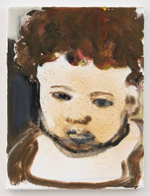Baby Eden by Marlene Dumas contemporary artwork