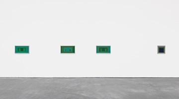 Contemporary art exhibition, Josef Albers, Sonic Albers at David Zwirner, New York