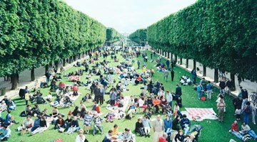 Contemporary art exhibition, Massimo Vitali, MASSIMO VITALI: Picnic Allée at Mazzoleni, Turin