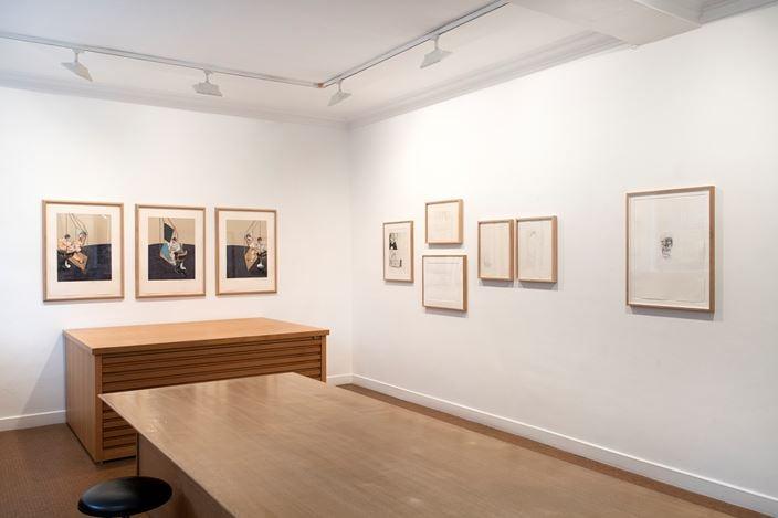 Exhibition view: Group Exhibition, Prints, Galerie Lelong & Co., 13 Rue de Téhéran, Paris(21 November 2019–18 January 2020). Courtesy Galerie Lelong & Co. Paris.