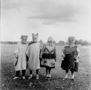 Untitled (#4) by Diane Arbus contemporary artwork