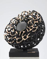 La Perla Negra by Gianfranco Meggiato contemporary artwork sculpture