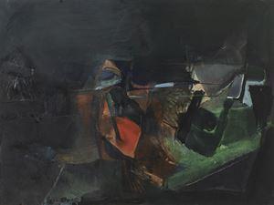 Paysage-nuit by Gisèle Van Lange contemporary artwork